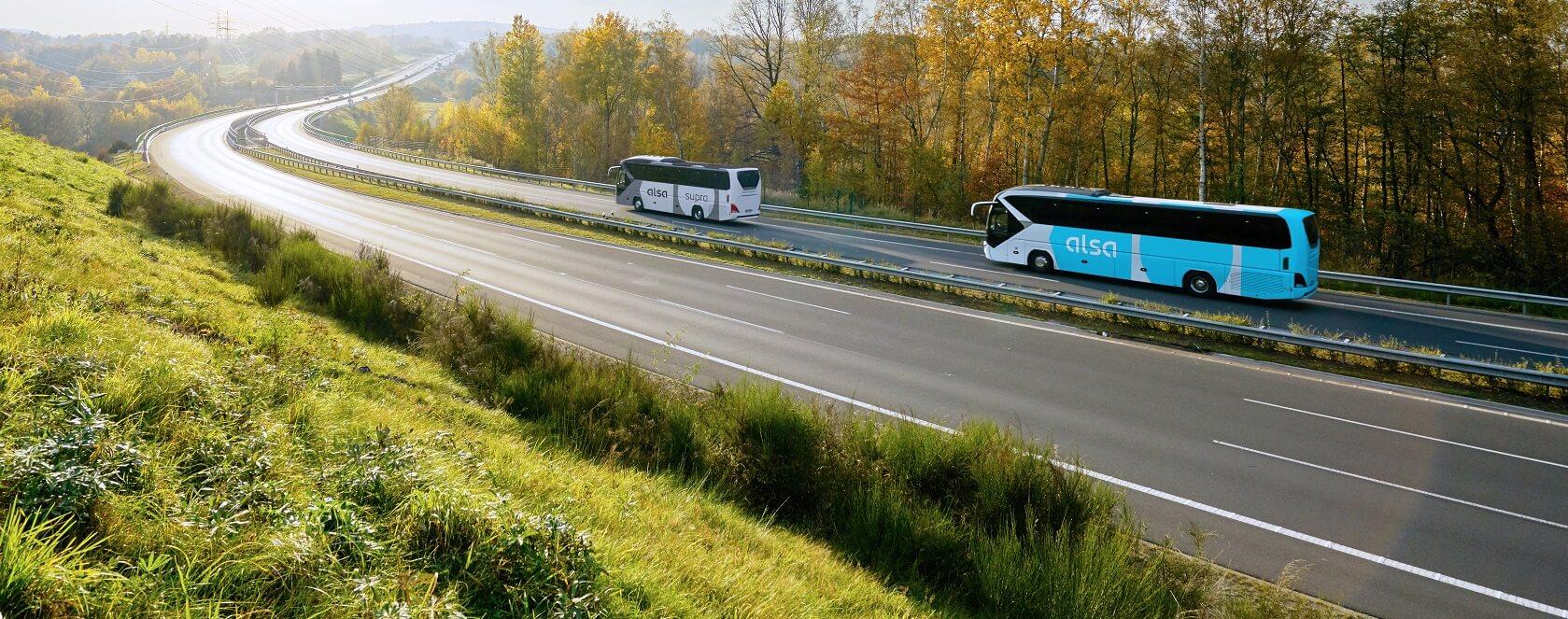Alsa reanuda los servicios en autobús entre Barcelona y Ponferrada 1