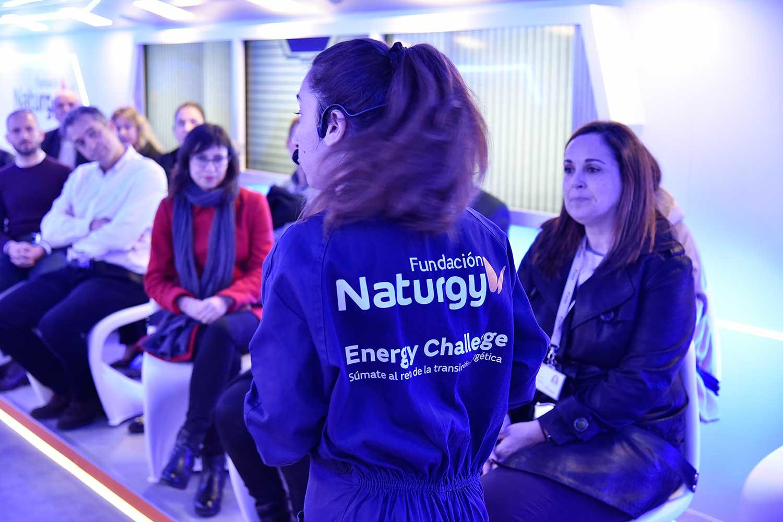 Naturgy 'aterrizará' durante las navidades en Ponferrada con una aeronave futurista llena de propuestas para resolver el desafío energético 5