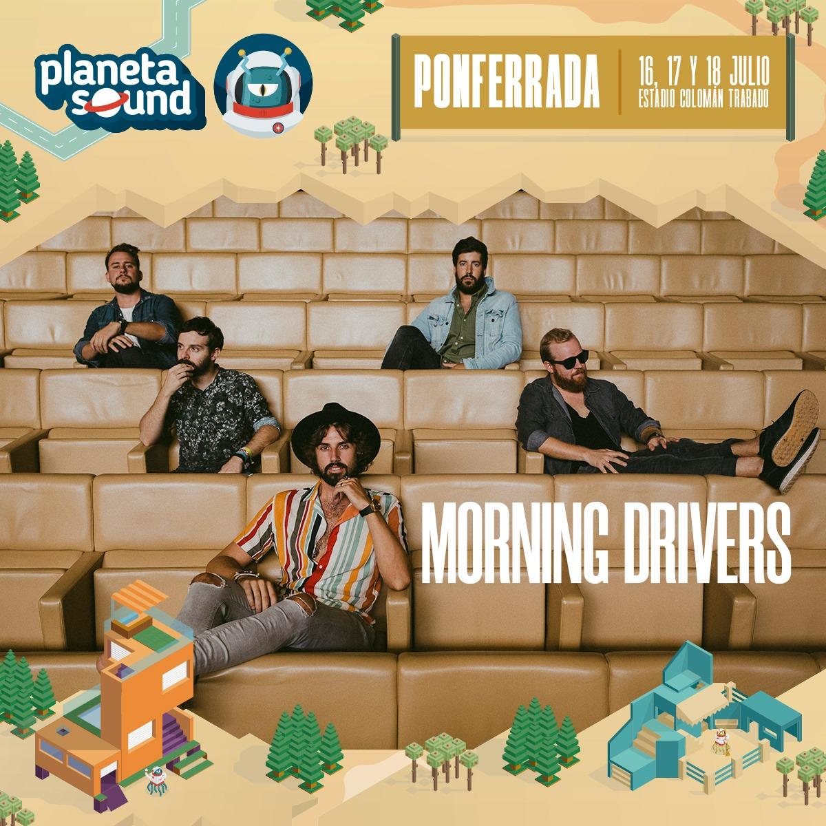 Morning Drivers, Jack Bisonte y Shinova se unen al cartel del Planeta Sound 2021 4