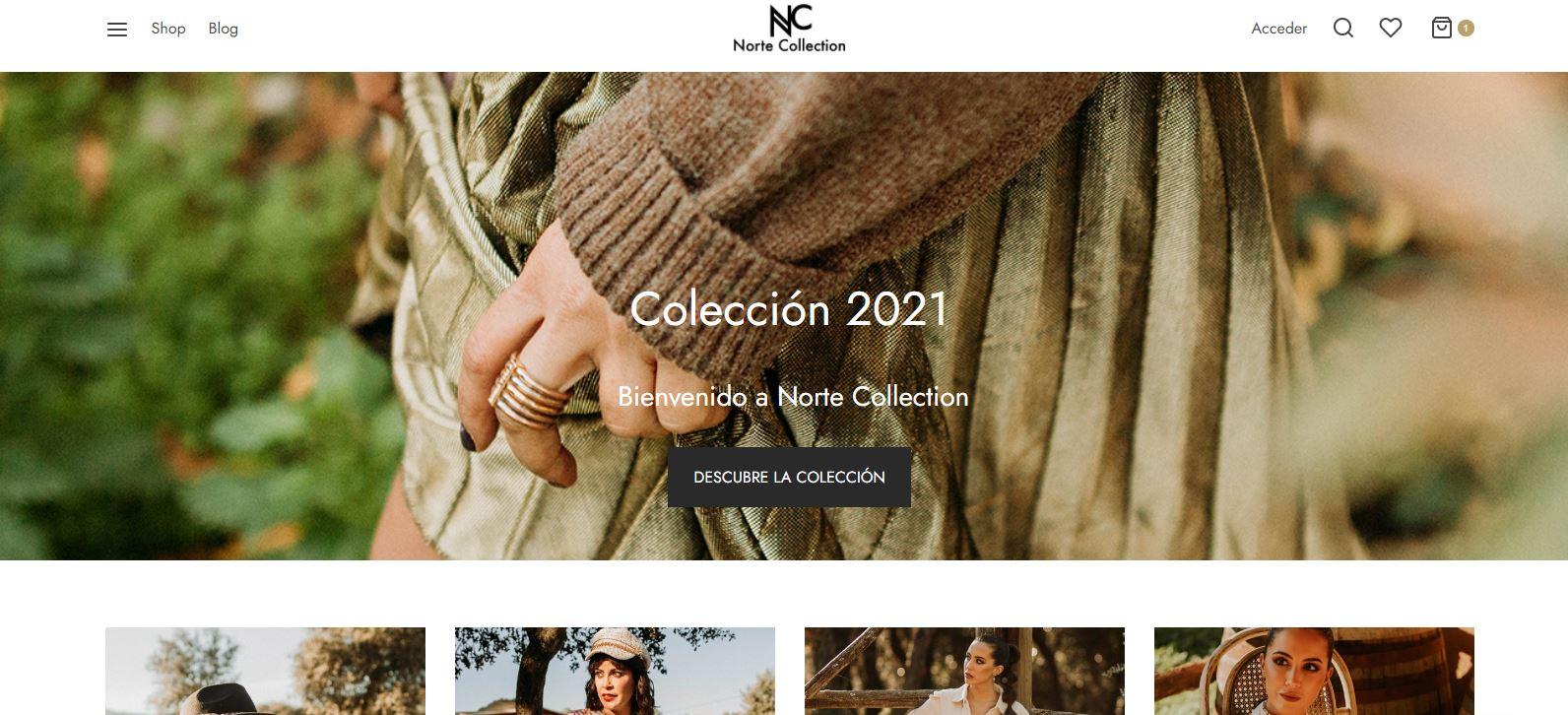 La periodista berciana Mónica Domínguez lanza  'NORTE COLLECTION', una marca de moda nacida de sus viajes y experiencias 2