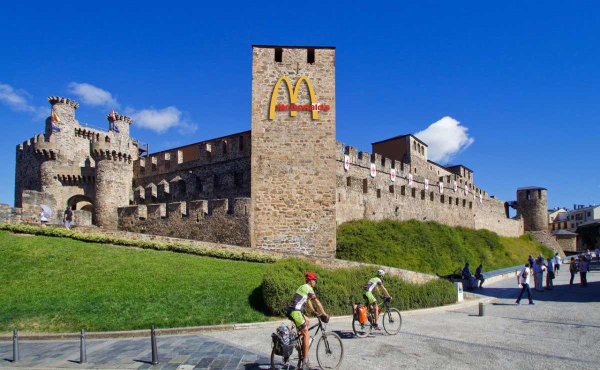 McDonalds se hace con la concesión del restaurante en el interior del Castillo de Ponferrada 1