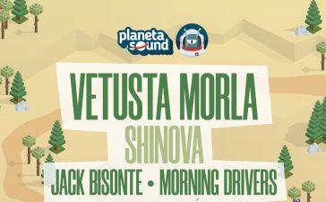Morning Drivers, Jack Bisonte y Shinova se unen al cartel del Planeta Sound 2021 8