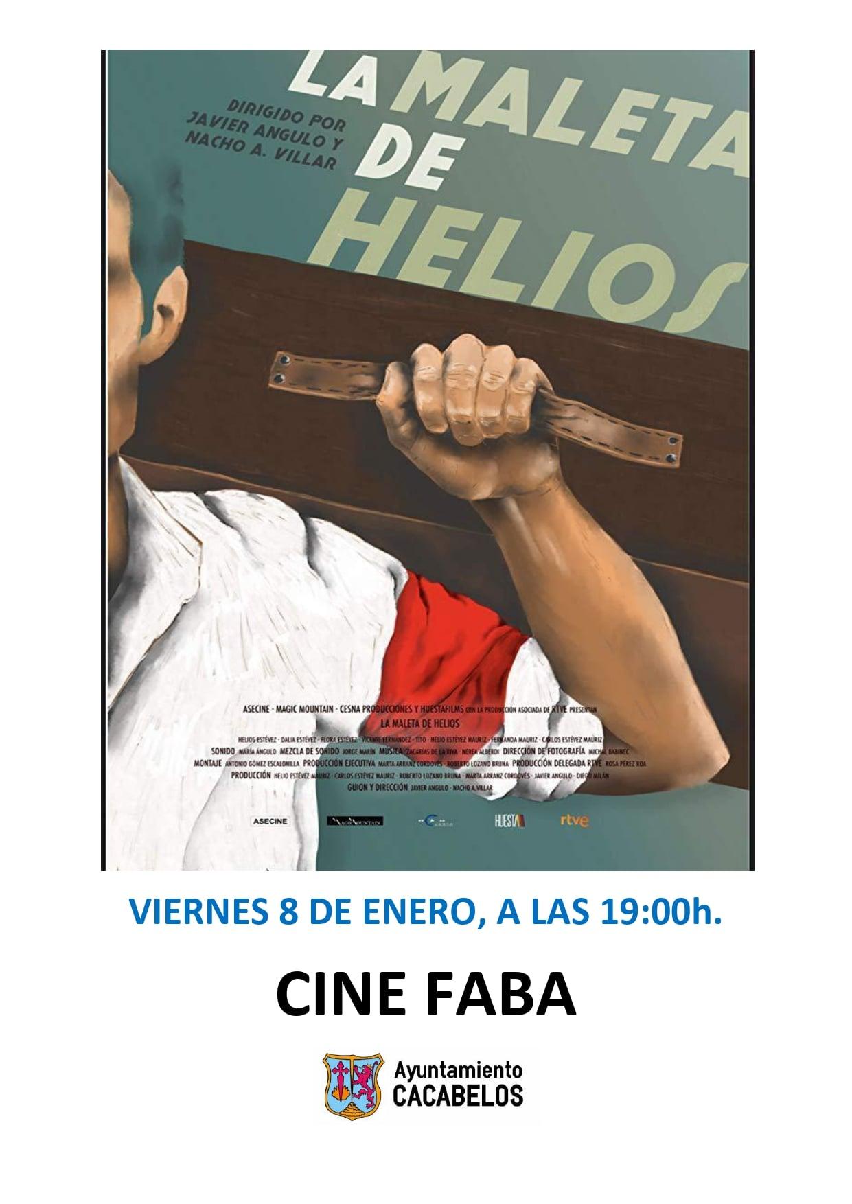 Proyección del documental 'La maleta de Helios' en Cacabelos 1