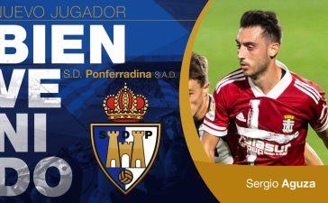 OFICIAL: Sergio Aguza regresa a la SD Ponferradina 3