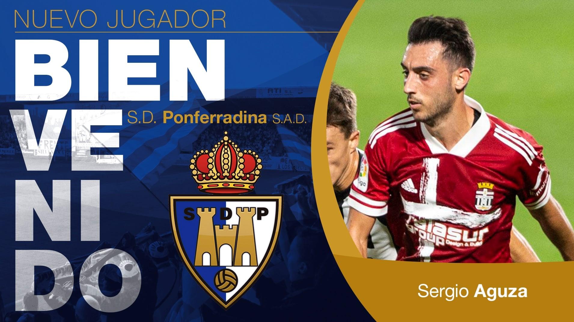 OFICIAL: Sergio Aguza regresa a la SD Ponferradina 1