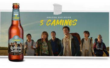 Estrella de Galicia lanza un pack para ver la serie '3 caminos' de Amazon Prime 2