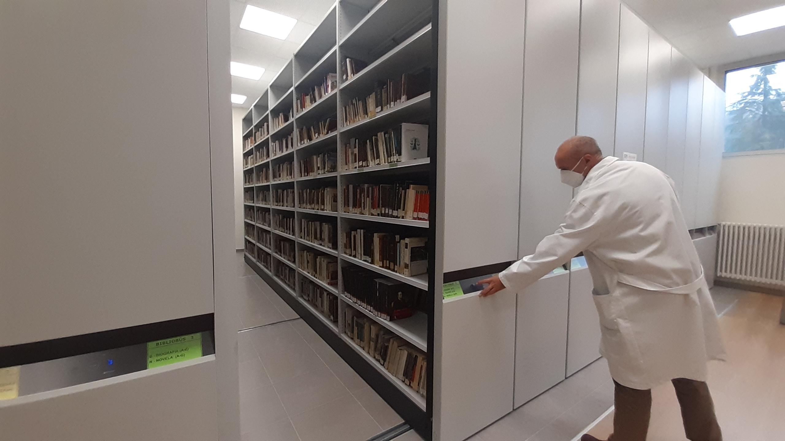 El corazón de los bibliobuses y las bibliotecas municipales de la provincia 1