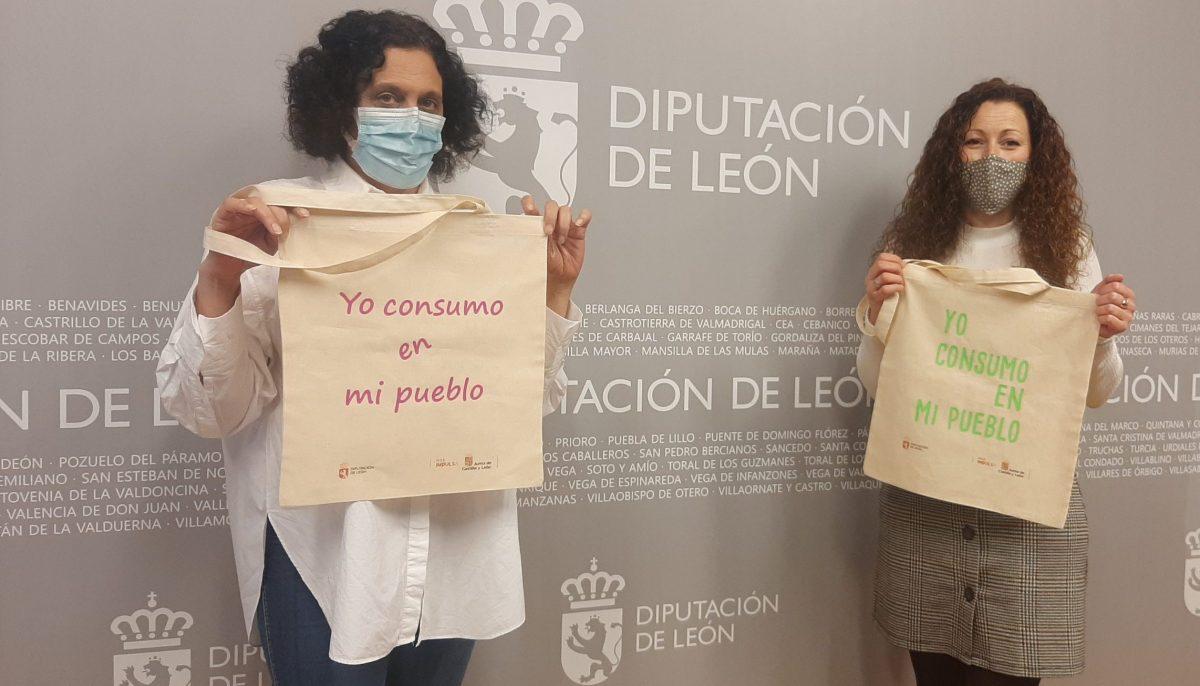 La Diputación lanza una campaña de apoyo al comercio minorista del medio rural con el reparto de 15.000 bolsas reutilizables 1