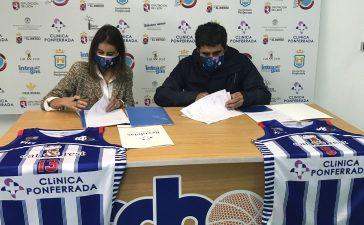 La Clínica Ponferrada se convierte en nuevo patrocinador del Club de Baloncesto 'Ciudad de Ponferrada' 3