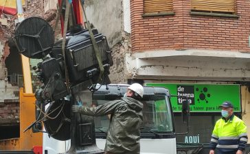 VÍDEO Y FOTOS | Así se despidieron los dos proyectores de carbones del emblemático Cine Adriano 8