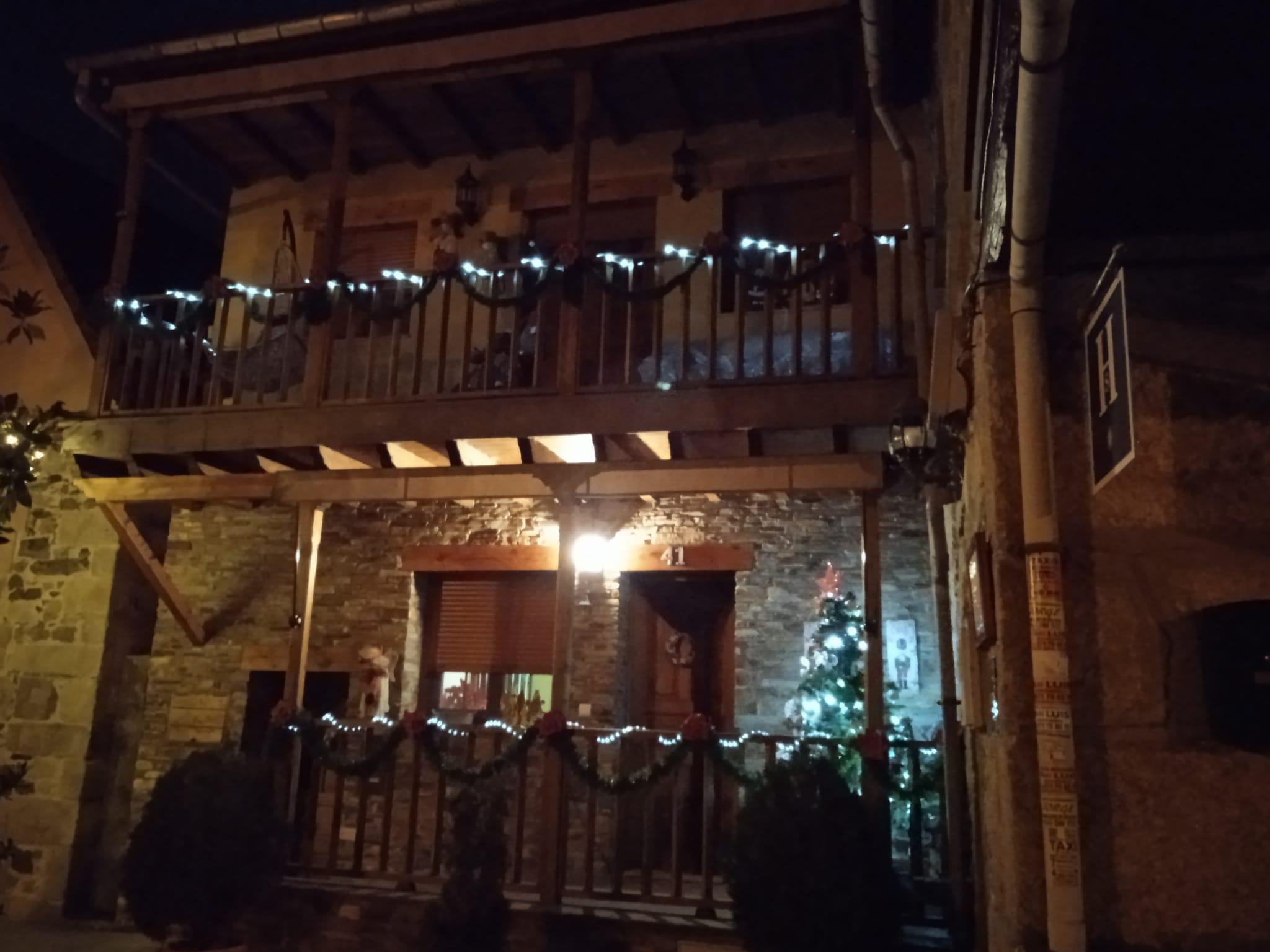 Ganadores del concurso de decoración navideña conjunta de Molinaseca y Villafranca 1