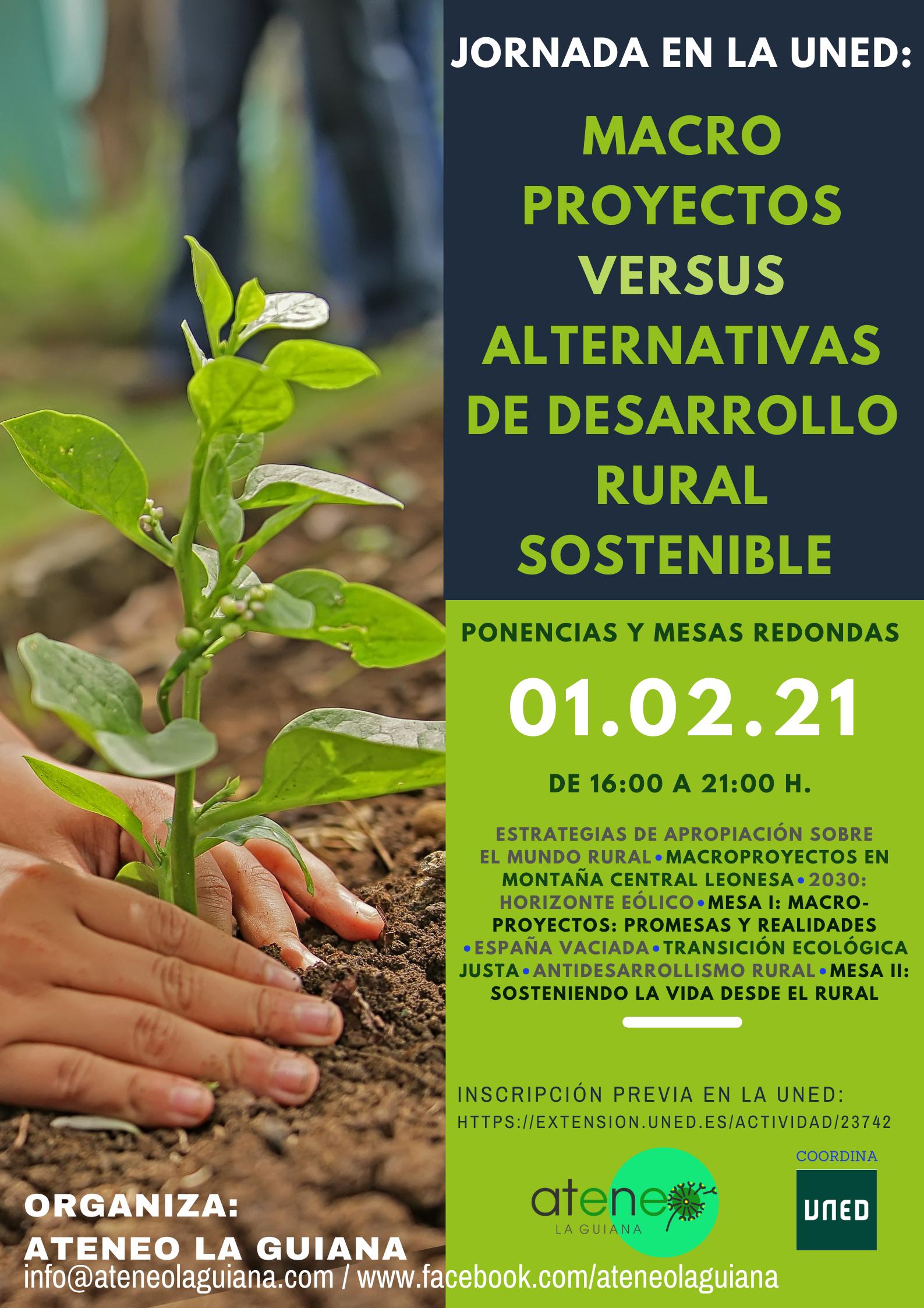 La Uned y el Ateneo La Guiana organizan la charla