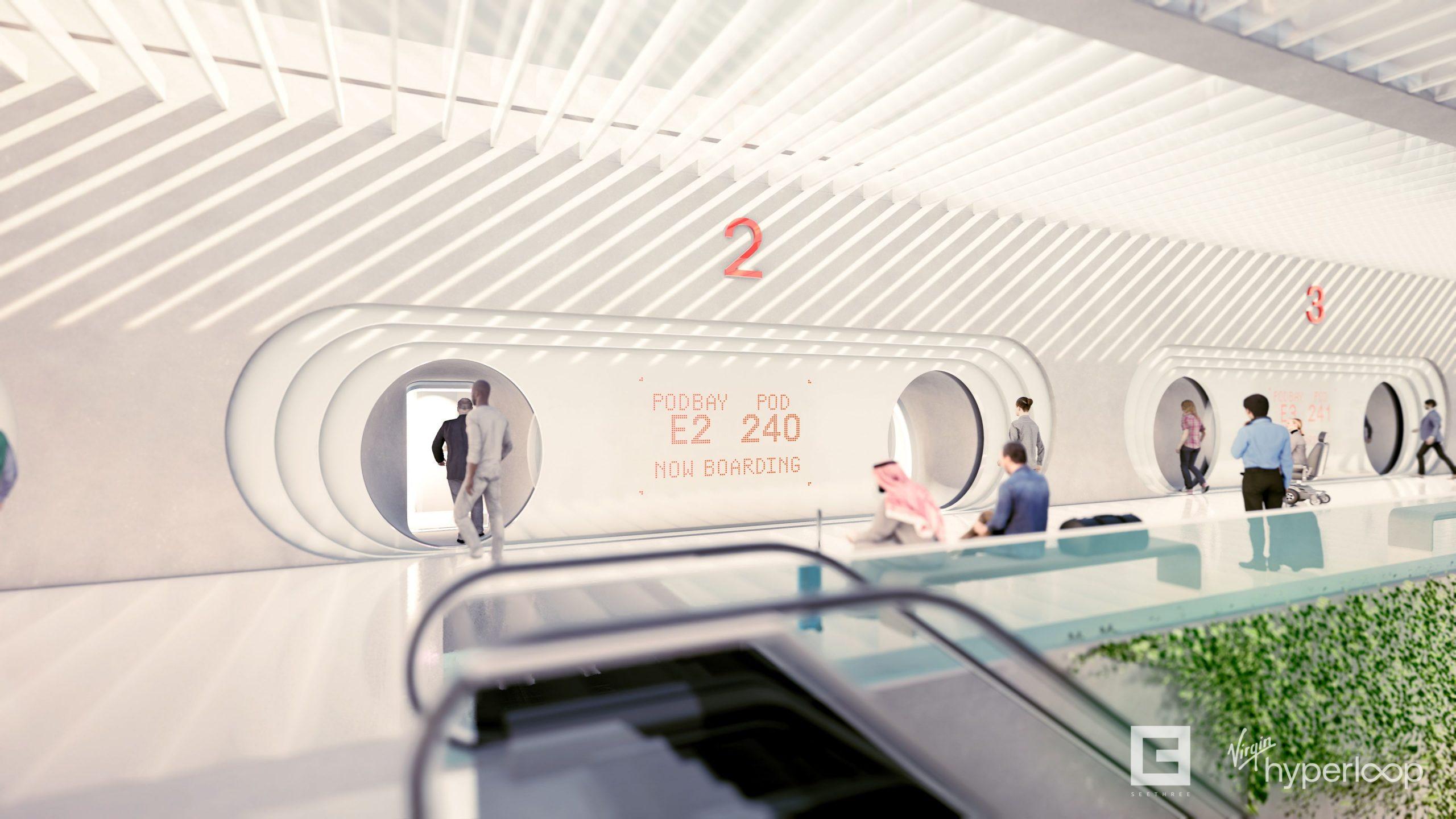 Virgin nos muestra cómo será viajar en su hyperloop 6