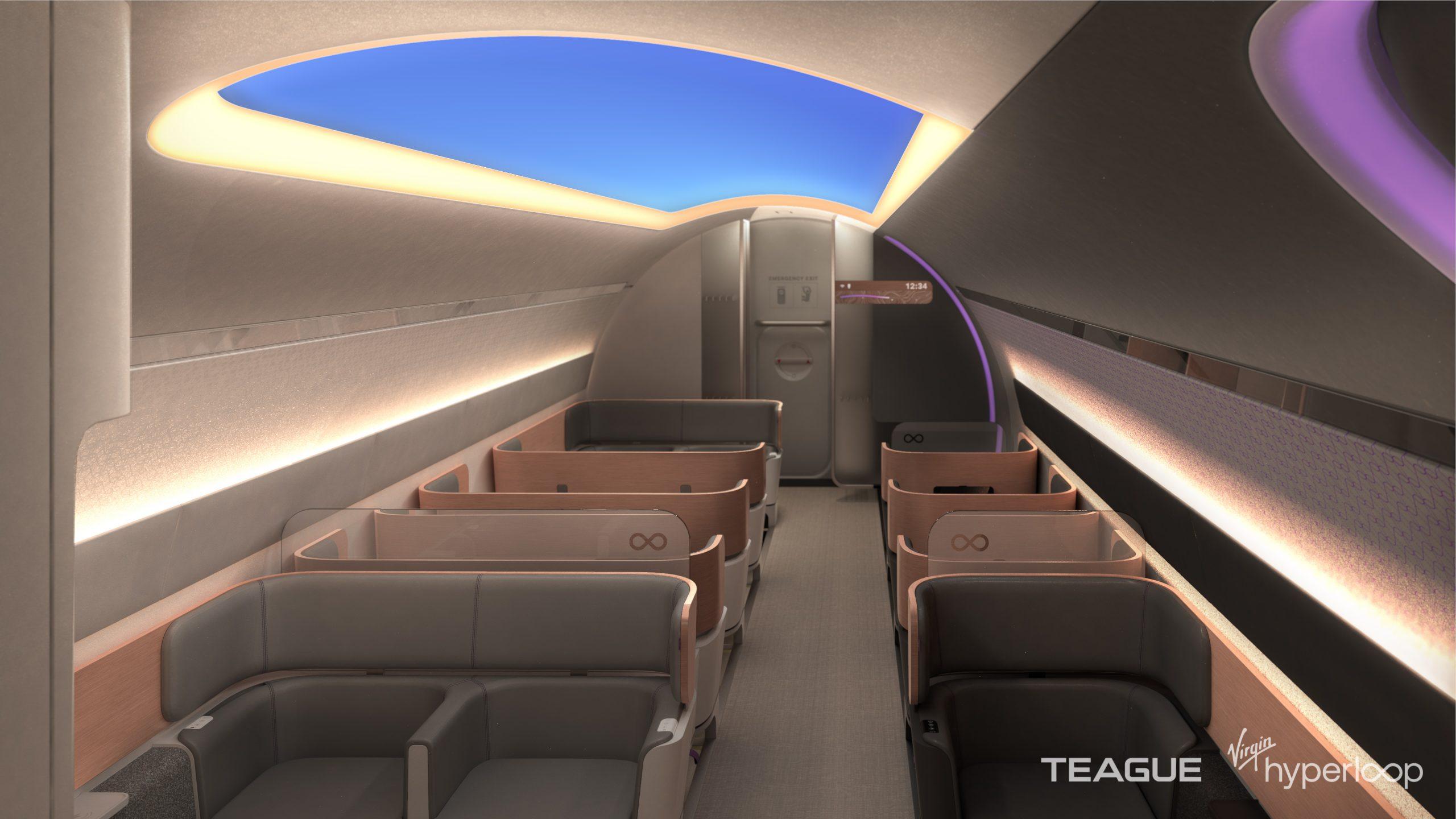 Virgin nos muestra cómo será viajar en su hyperloop 4