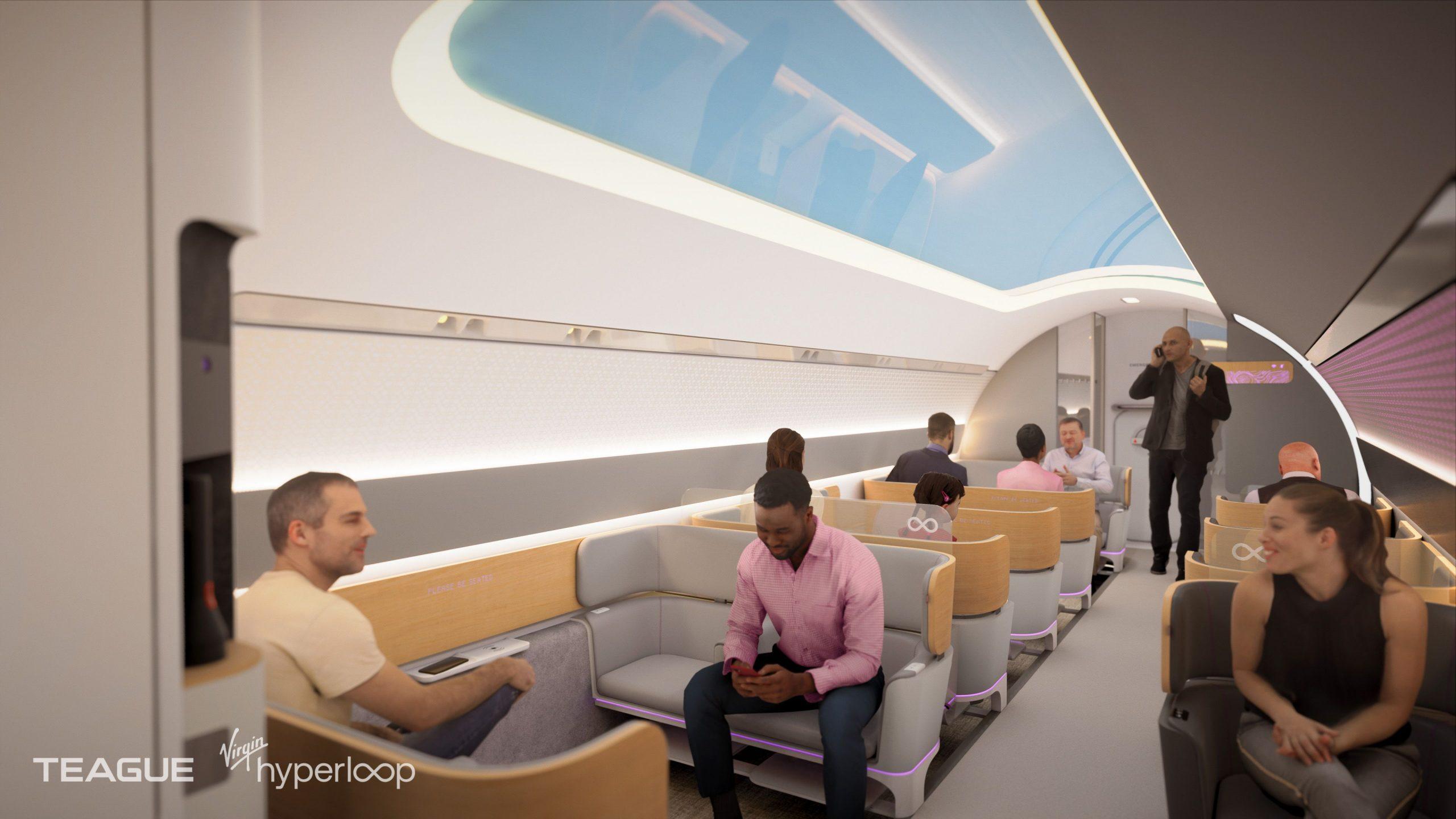 Virgin nos muestra cómo será viajar en su hyperloop 1