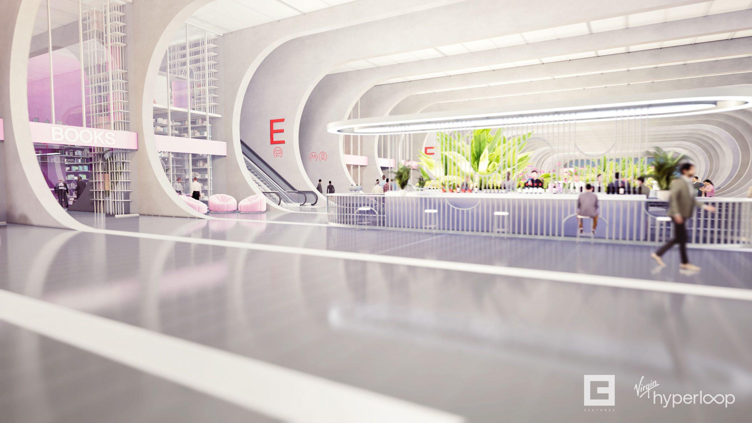 Virgin nos muestra cómo será viajar en su hyperloop 2