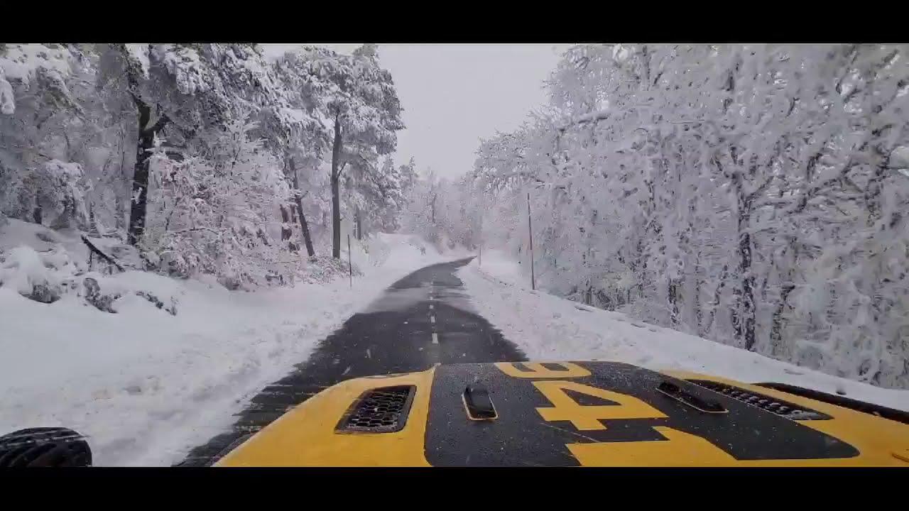 Jesús Calleja muestra en redes sociales el complicado descenso de Foncebadón a Ponferrada entre la nieve 1