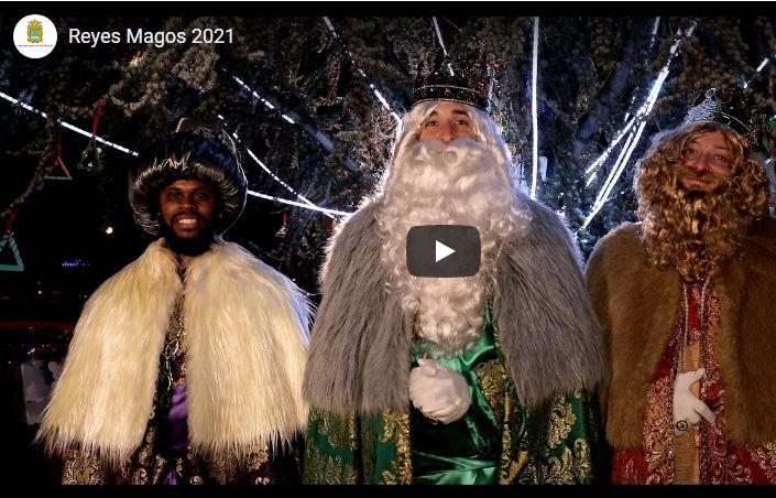 Los Reyes Magos han dejado este vídeo para los niños que no han podido verles en Ponferrada 1