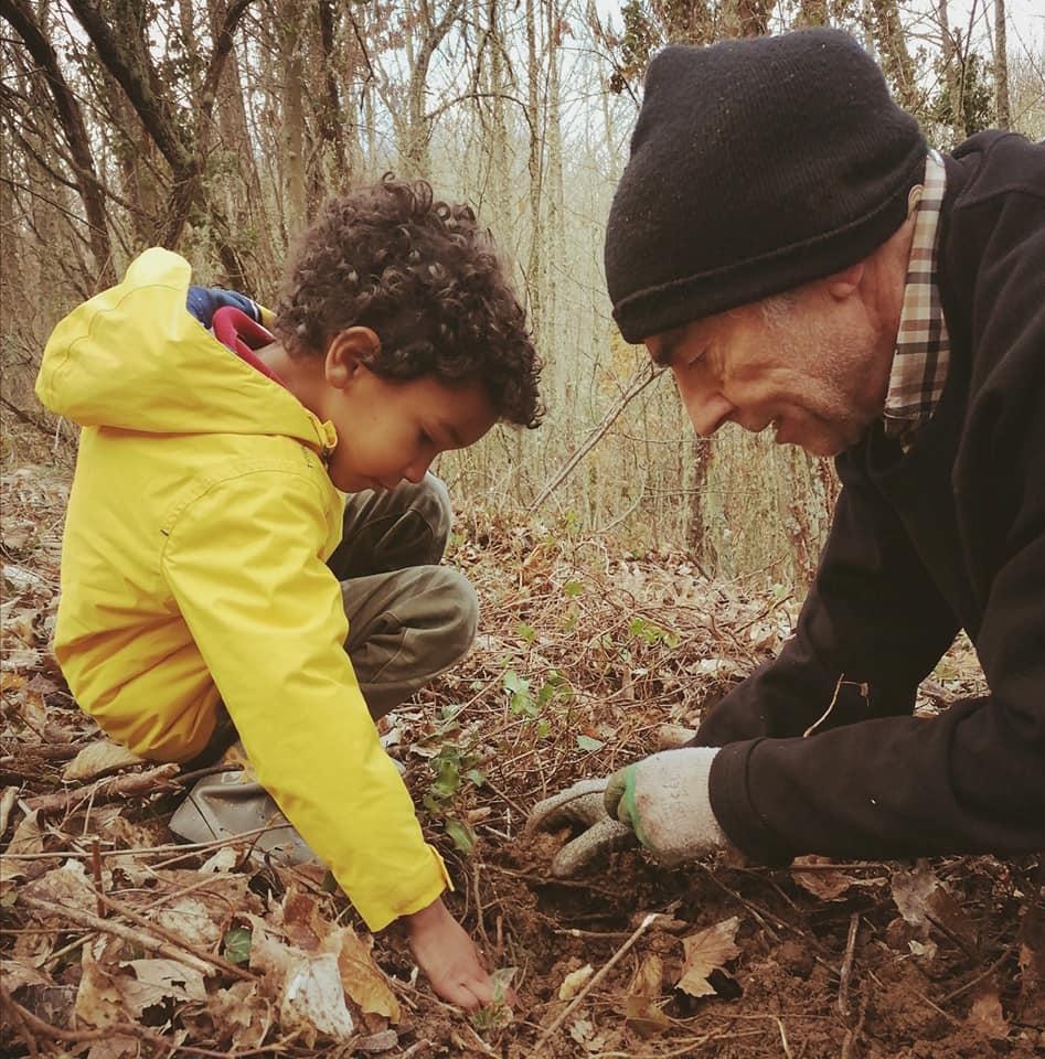 La Asociación Bierzo Vivo de Los Barrios, organiza una 2º jornada de plantación de árboles en el futuro bosque terapéutico de Villar 1