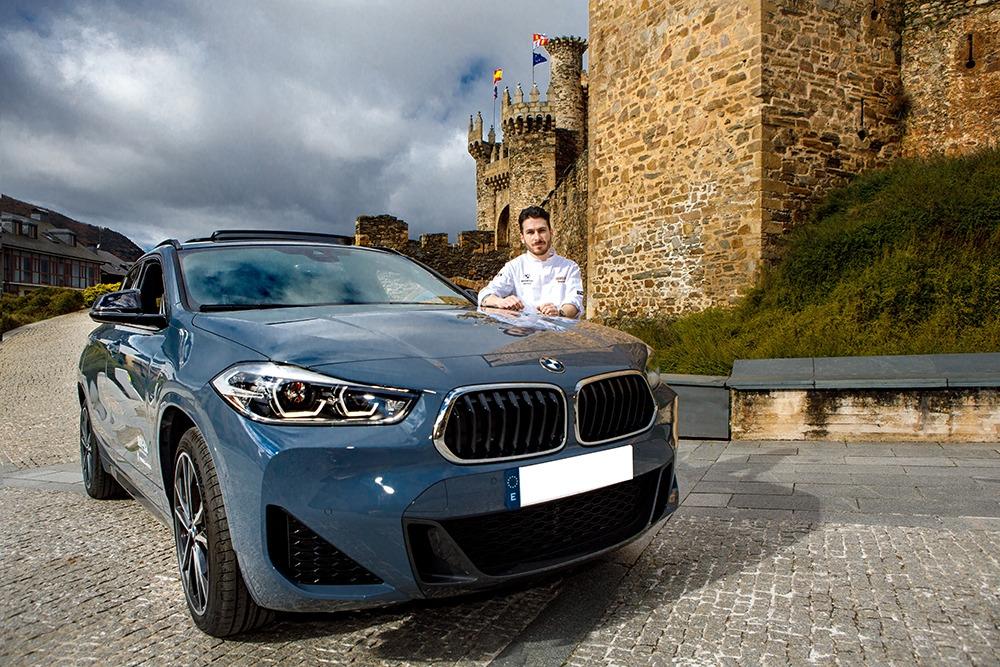 BMW Bernesga Motor ficha de embajador al chef del MuNa, Samuel Naveira 2