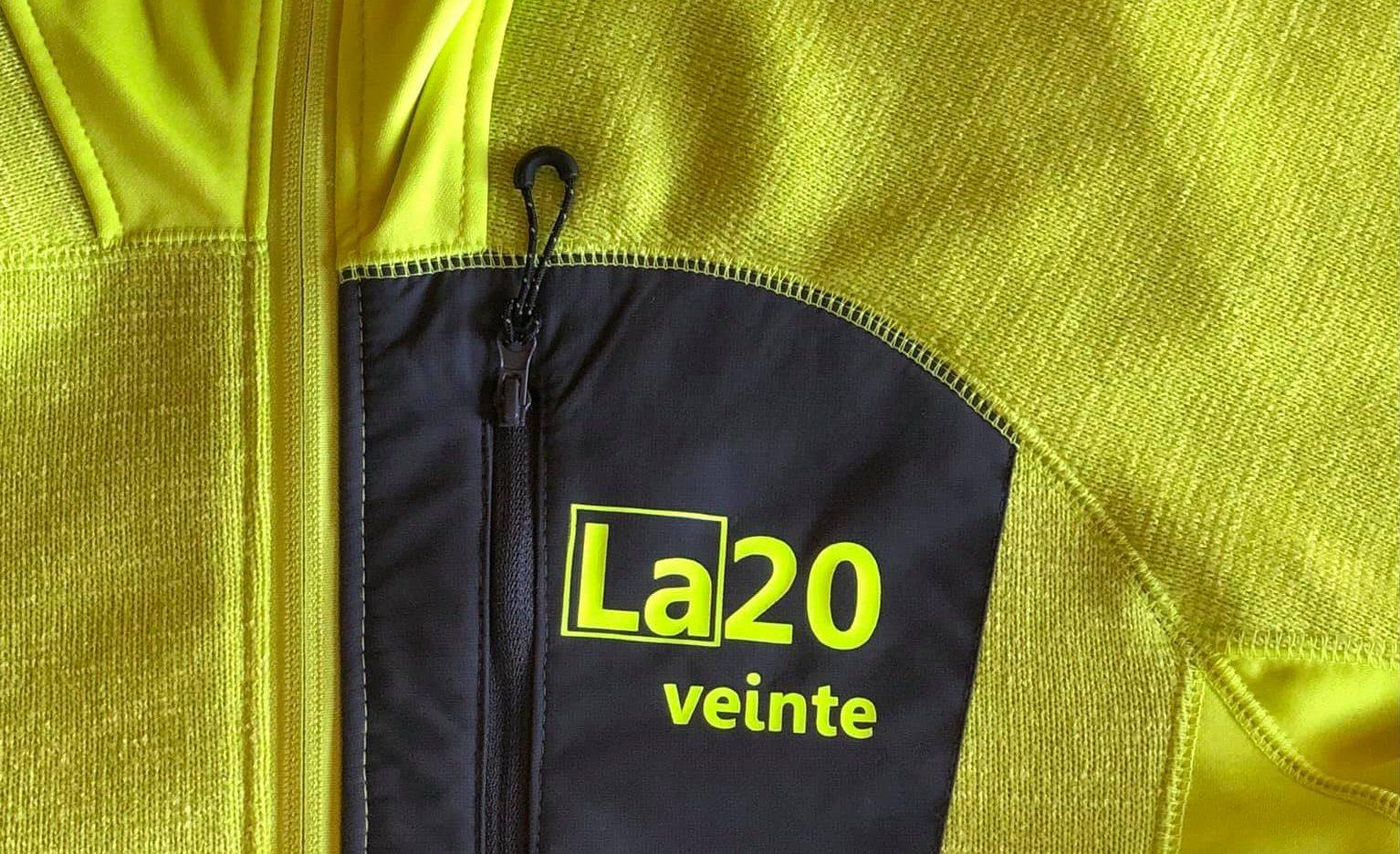 La20veinte presenta su equipo ciclista de competición en colaboración con la marca de vidrio aislante Vintel 1