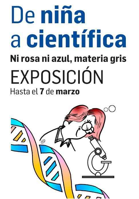 El Museo de la Energía inaugura la exposición virtual 'De niña a científica' 1