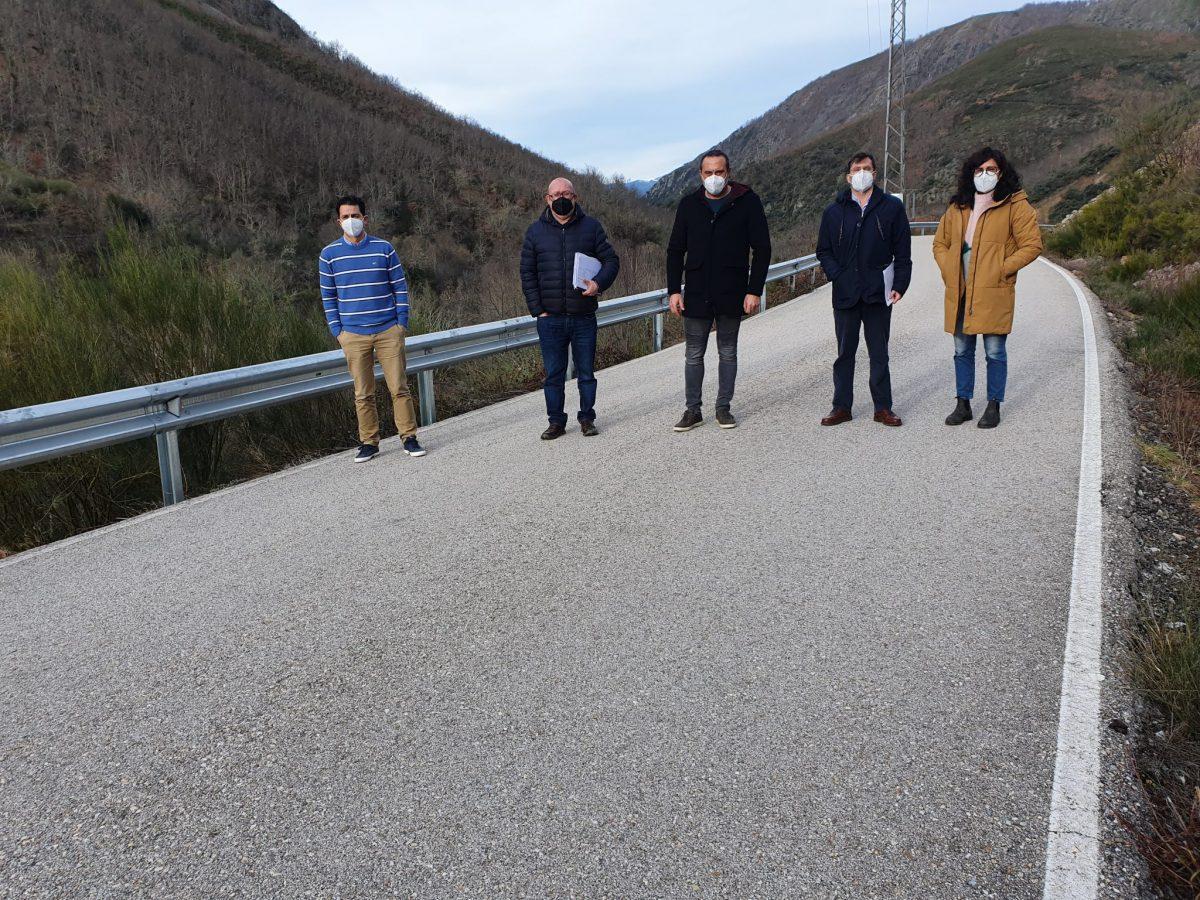 La Diputación mejora la seguridad en13 carreteras de la red provincial con una inversión de 174.878,78 euros 1