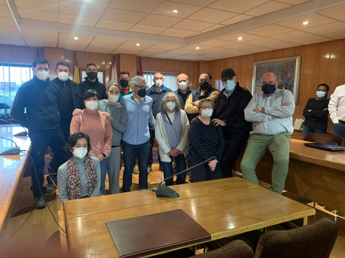 El Ayuntamiento de Bembibre despide a Benito Pereira en el día de su jubilación 1