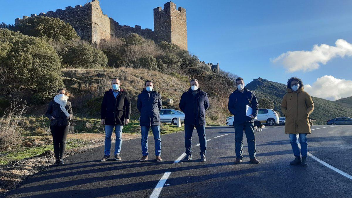 La Diputación recibe las obras de ensanche y mejora de la carretera a Villavieja y la travesía y acceso a Magaz de Abajo 1