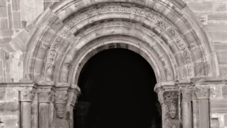Un estudio de la ULE muestra como era la desaparecida portada románica del Monasterio de Carracedo 1