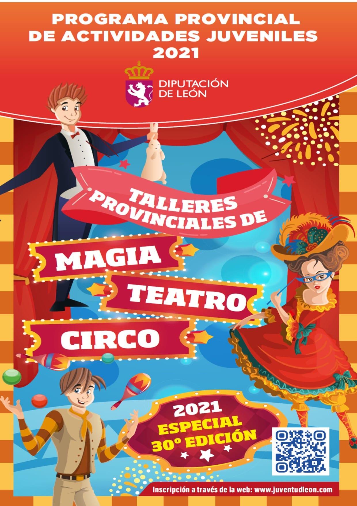 Cacabelos pone en marcha los talleres provinciales de magia, teatro y circo 2