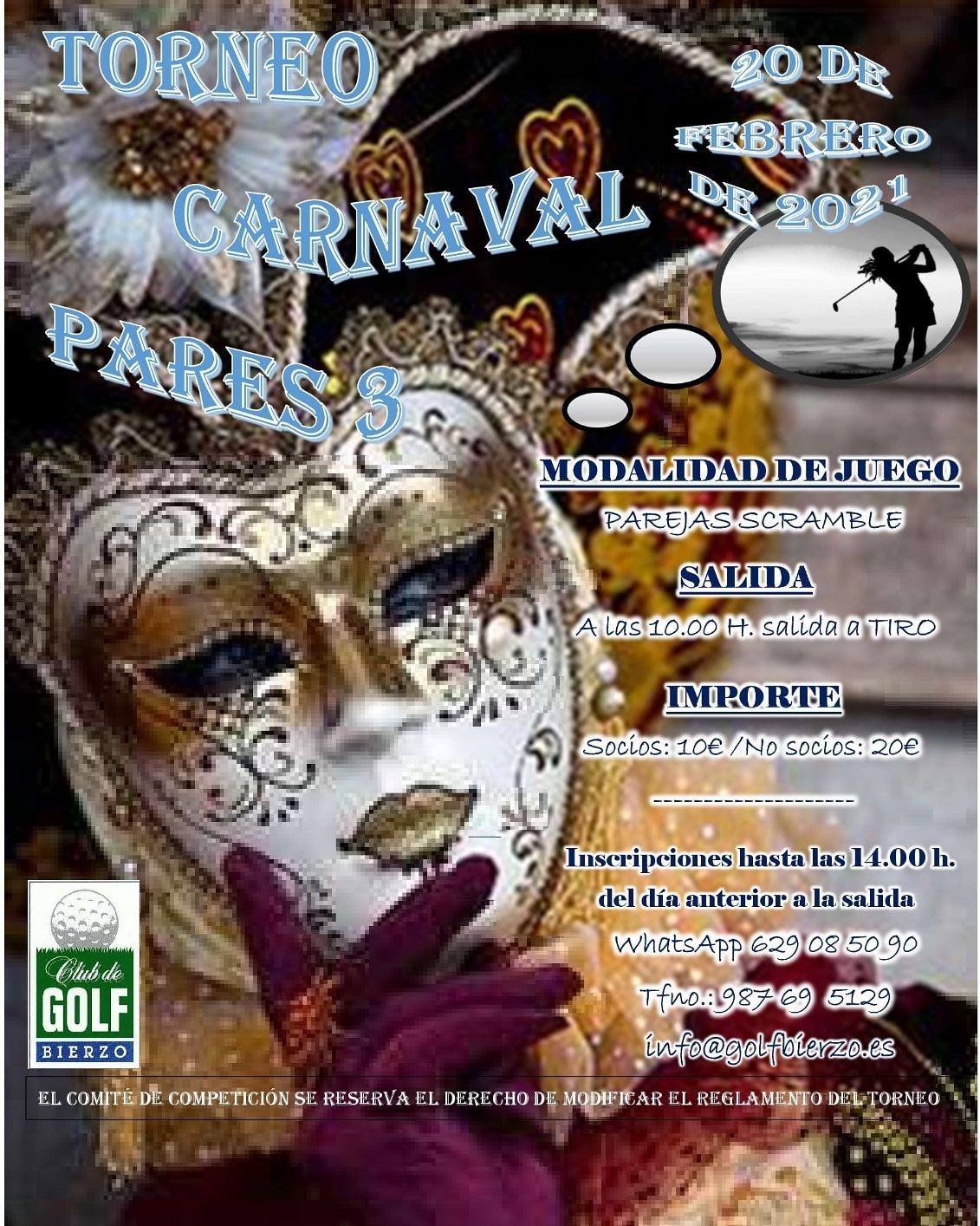 EL Club de Golf Bierzo organiza un torneo de Carnaval este fin de semana 2