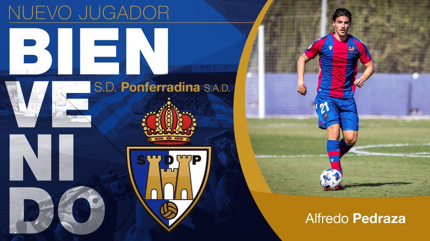 El central Alfredo Pedraza, nuevo jugador de la SD Ponferradina 1