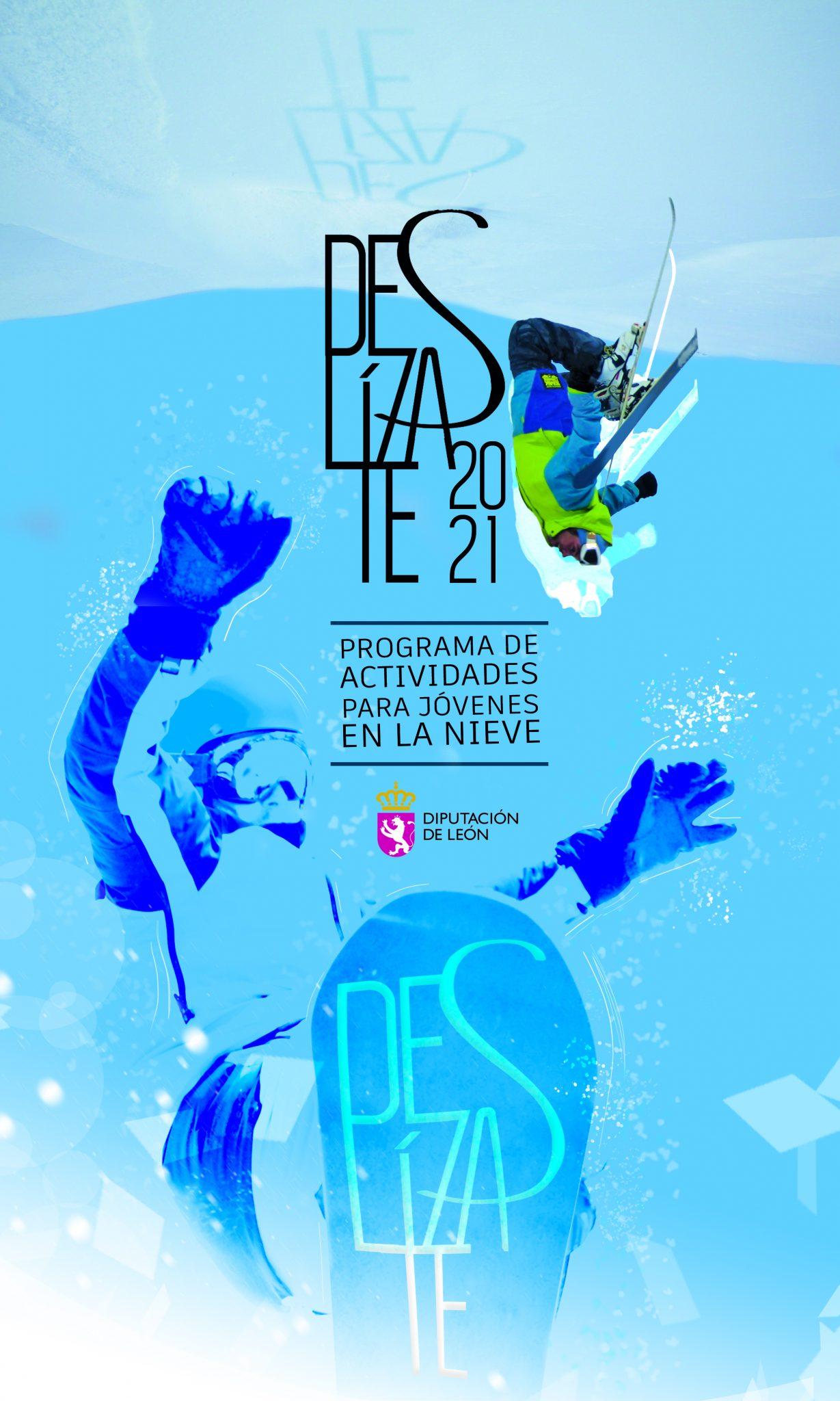 La Diputación oferta cinco cursos de esquí o snow para jóvenes de la provincia a través del programa Deslízate 2