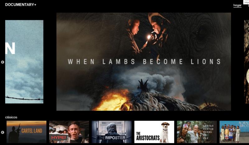 Llega Documentary+, una plataforma gratuita para ver documentales sin registro 1