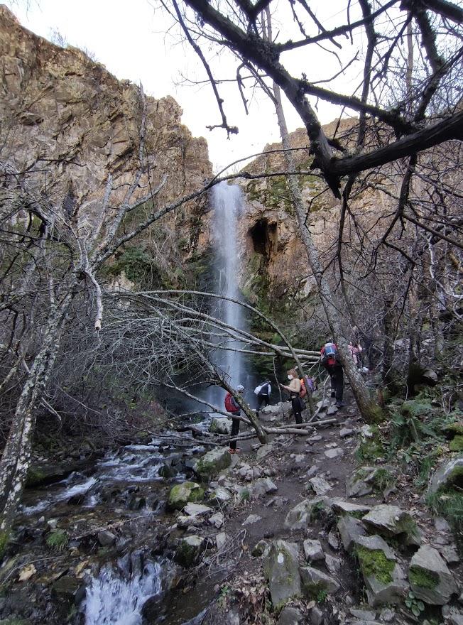 La Cascada del Gualtón. Ruta en Carracedo de Compludo 15