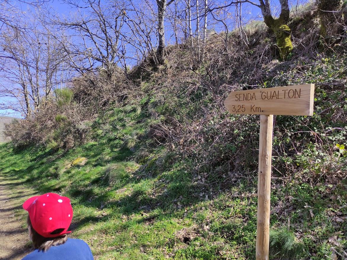 La Cascada del Gualtón. Ruta en Carracedo de Compludo 7