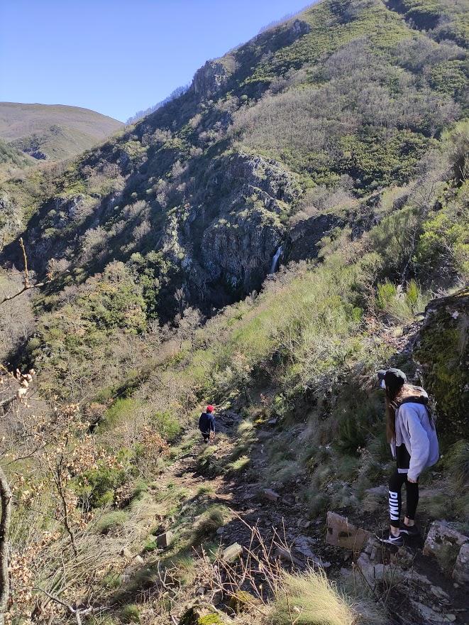 La Cascada del Gualtón. Ruta en Carracedo de Compludo 12