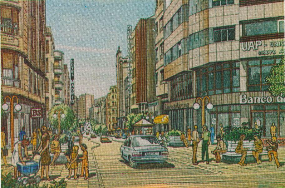 Así soñaba la Ponferrada de Celso López Gavela en 1986, como sería la ciudad en el año 2000 1