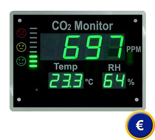 Los primeros medidores de CO2 empezarán a llegar hoy a las aulas de Castilla y León 1