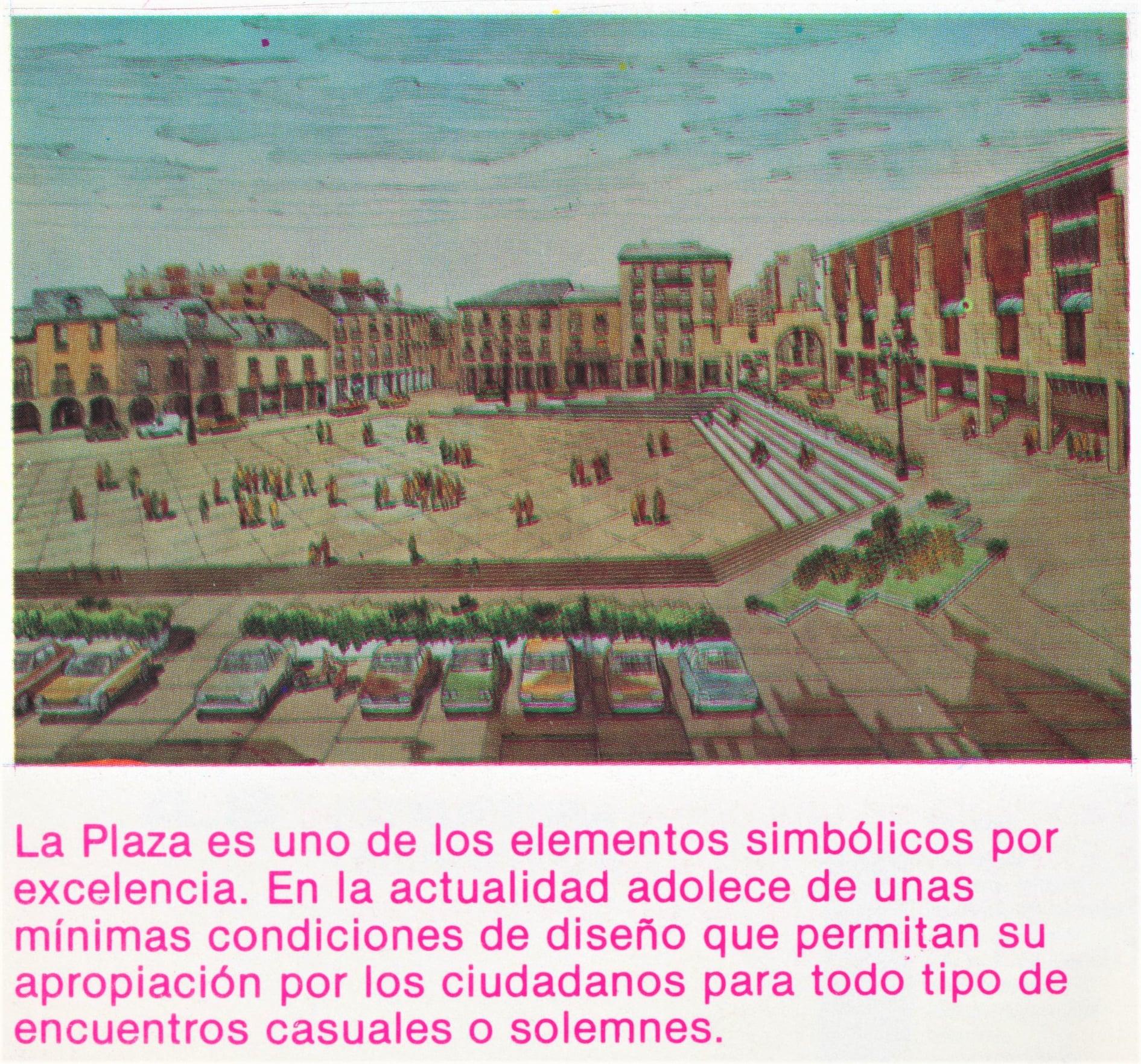 Así soñaba la Ponferrada de Celso López Gavela en 1986, como sería la ciudad en el año 2000 9