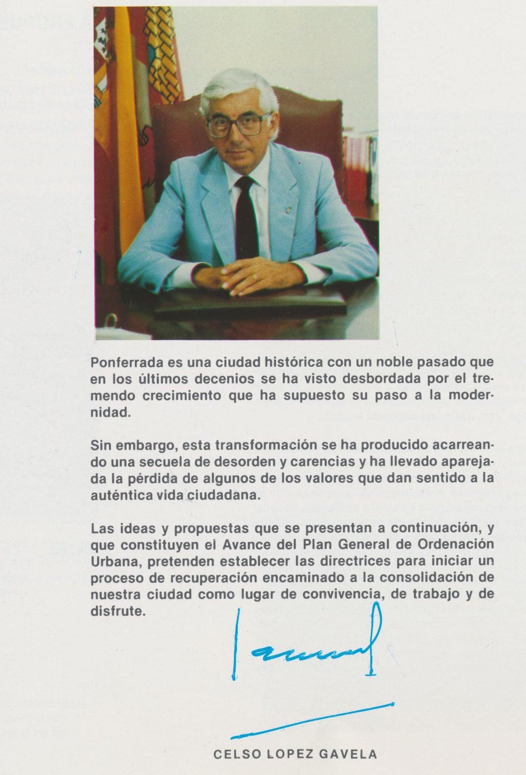 Así soñaba la Ponferrada de Celso López Gavela en 1986, como sería la ciudad en el año 2000 3