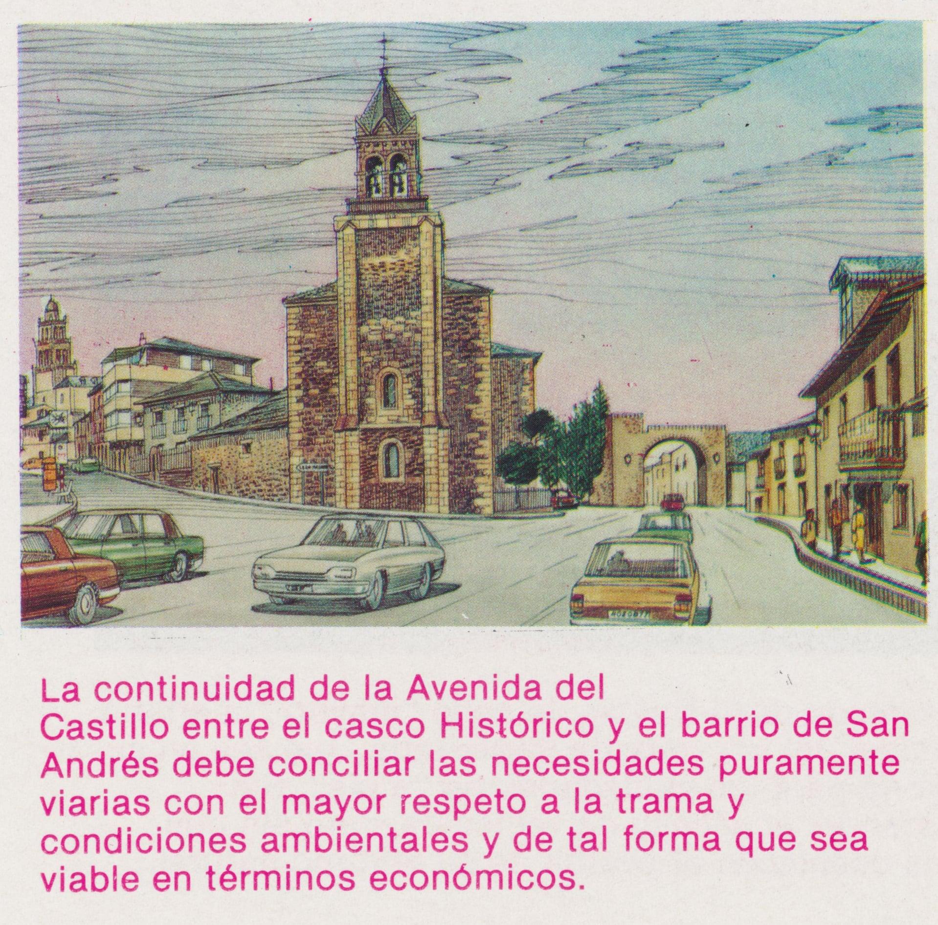 Así soñaba la Ponferrada de Celso López Gavela en 1986, como sería la ciudad en el año 2000 6