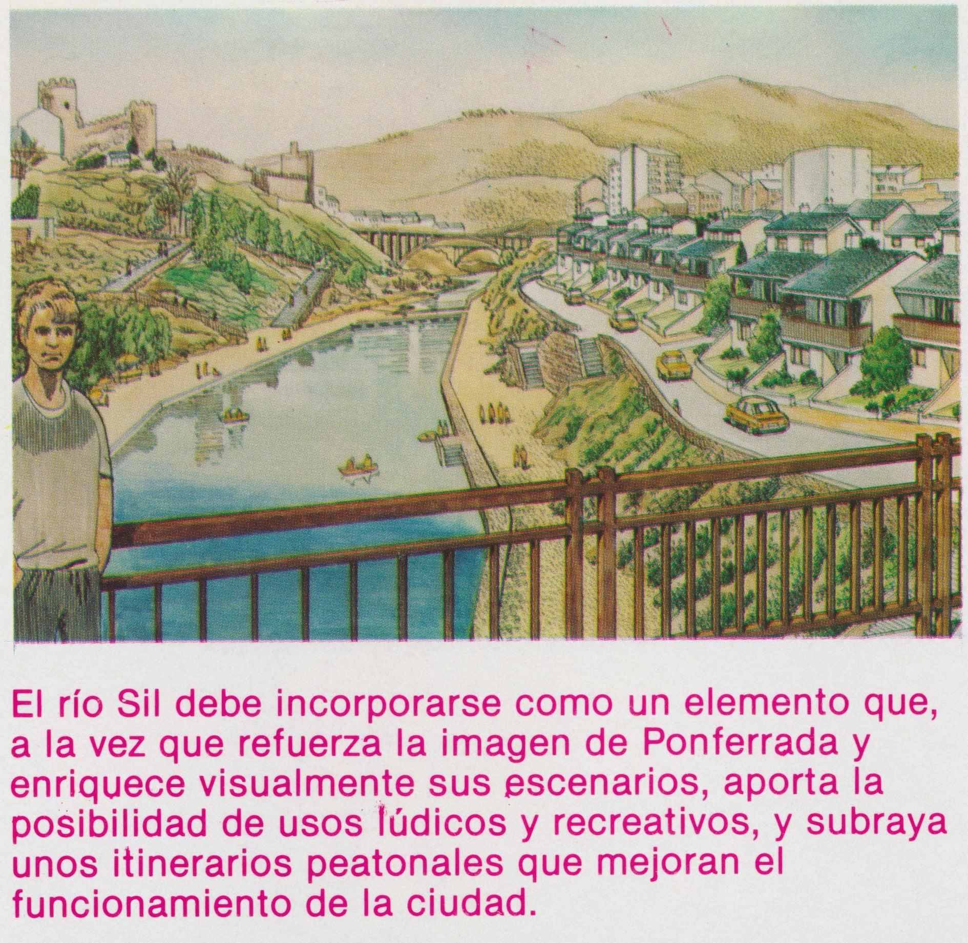 Así soñaba la Ponferrada de Celso López Gavela en 1986, como sería la ciudad en el año 2000 7
