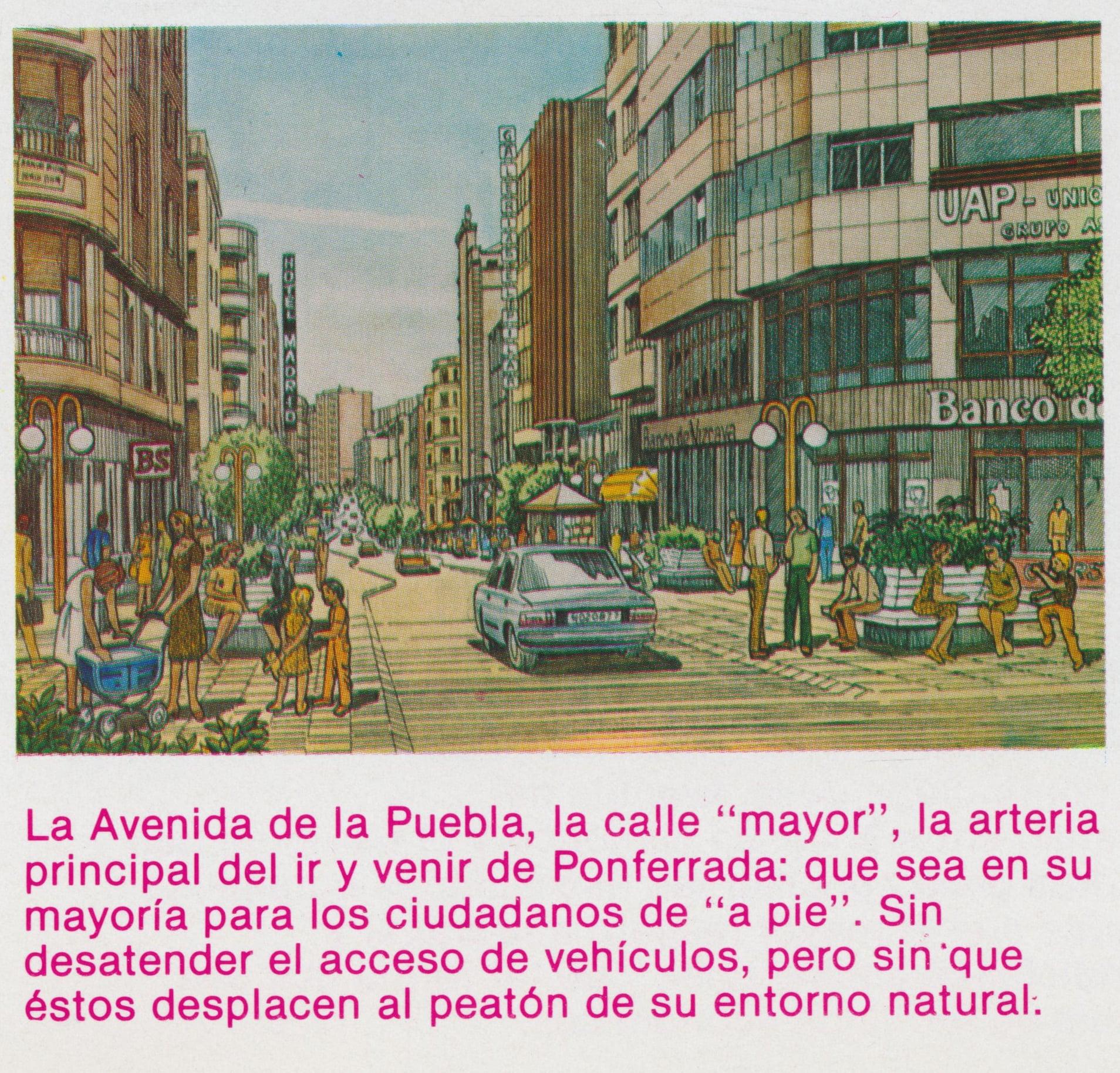 Así soñaba la Ponferrada de Celso López Gavela en 1986, como sería la ciudad en el año 2000 8