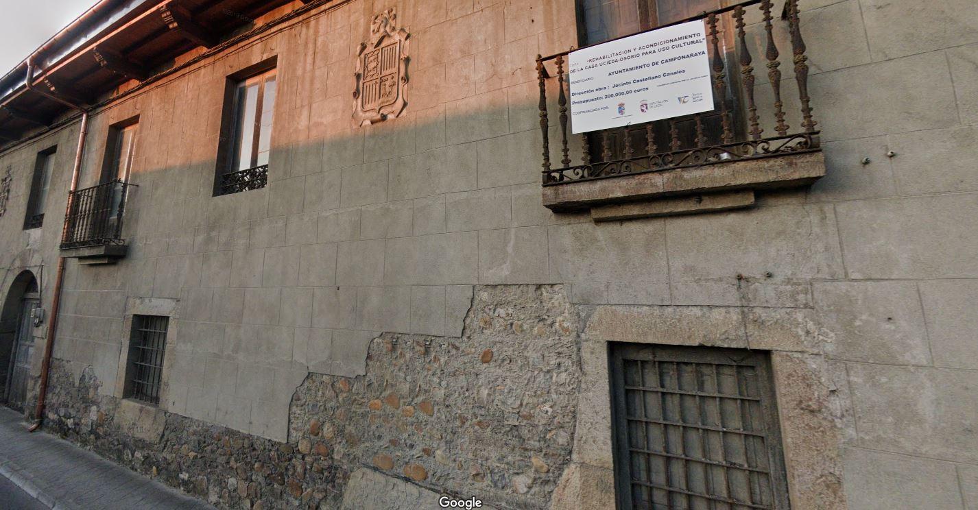 Patrimonio autoriza las obras de rehabilitación integral de la 'Casa Ucieda-Osorio' de Camponaraya con el fin de albergar un centro cultural y museístico 1