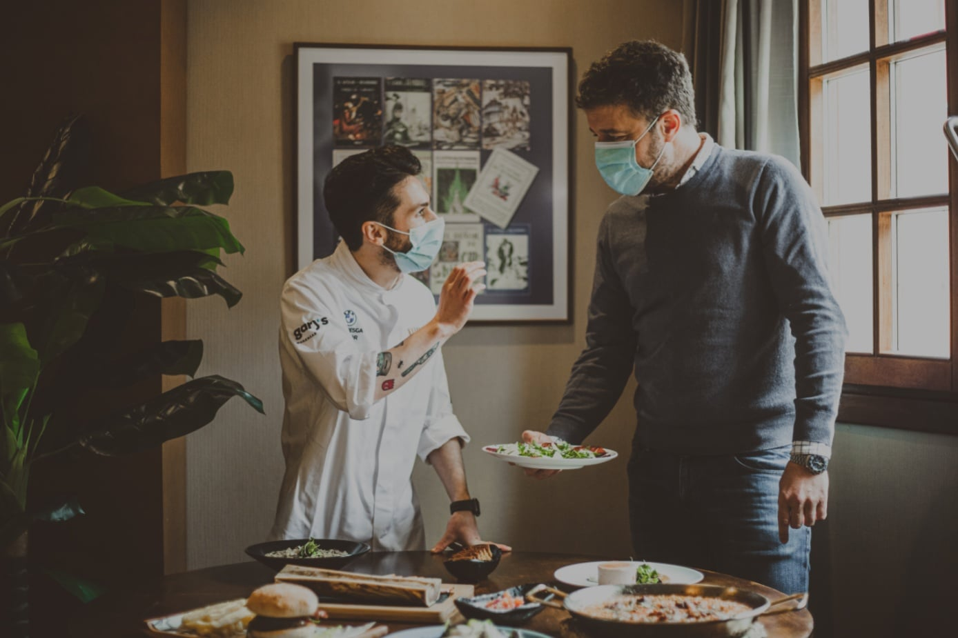 Samuel Naveira, estrella Michelin 2021, nuevo director gastronómico del Restaurante La Violeta 1
