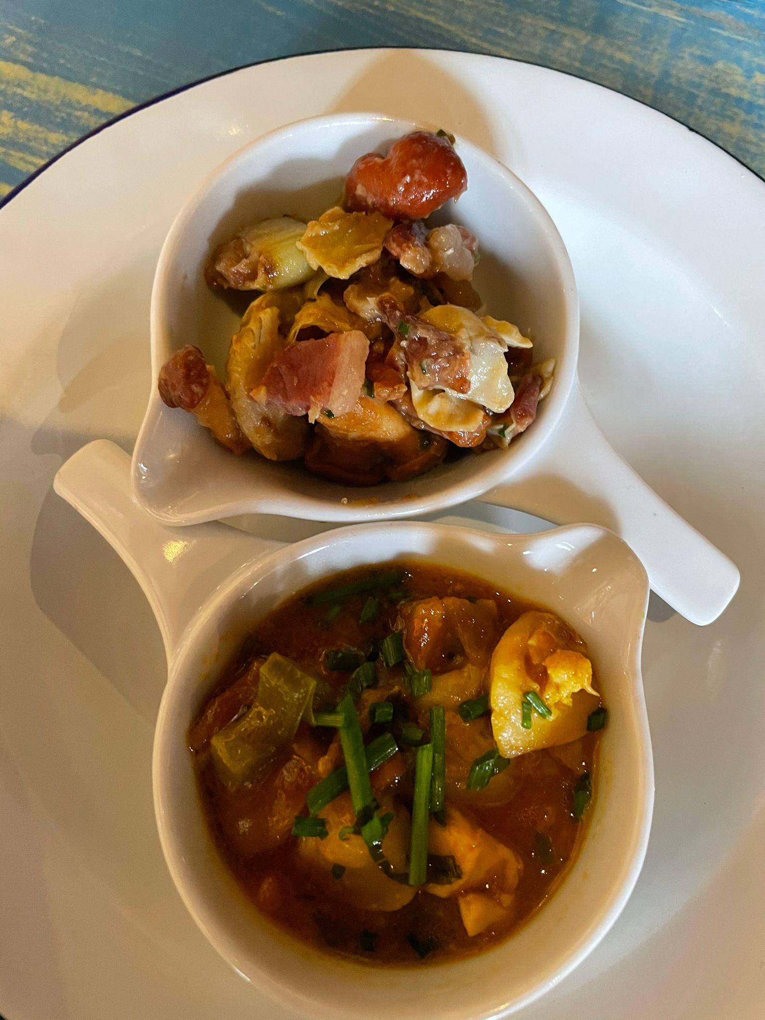 Reseña Gastronómica Restaurante la Puerta del Perdón en Villafranca del Bierzo. 2