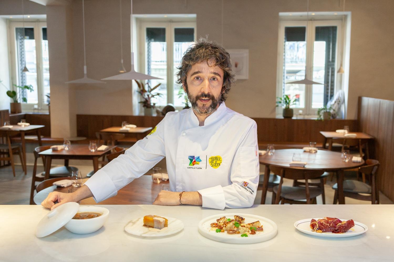 Los productos Tierra de Sabor se lucen en Madrid Design Festival de la mano del chef con dos estrellas Michelin Diego Guerrero 1