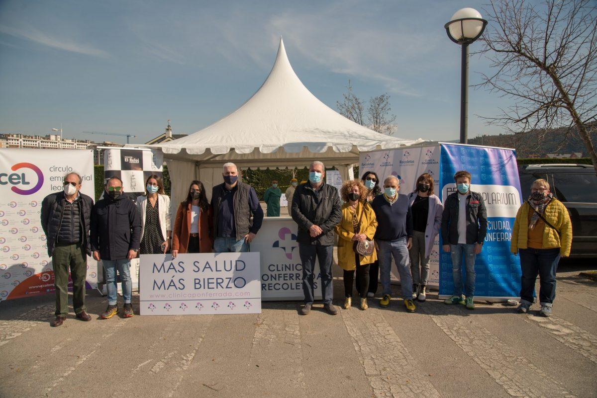Éxito de participación en el cribado gratuito organizado por La Clínica Ponferrada en colaboración con Templarium, con la participación de 600 personas 1